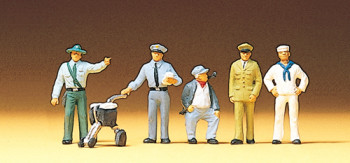 Different Professions (5) Exclusive Figure Set