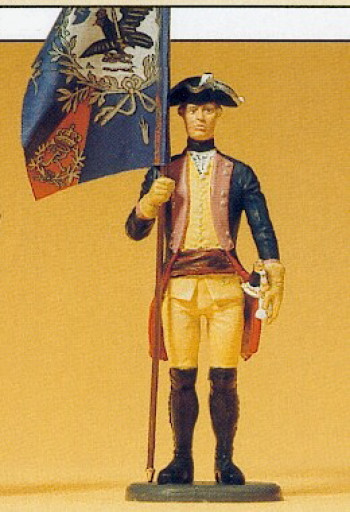 Prussian (1756) 7 Ensign Standing Figure