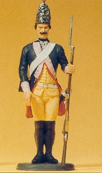 Prussian (1756) 7 Grenadier Standing Gun Lowered Figure