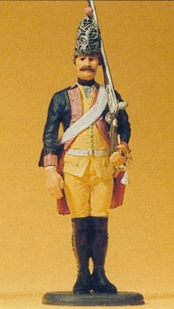 Prussian (1756) 7 Grenadier Standing Gun Shouldered Figure