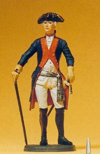 Prussian (1756) 38 Officer Standing Figure