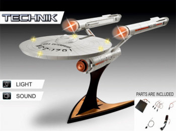 Technik Star Trek USS Enterprise NCC-1701 (1:600 Scale)