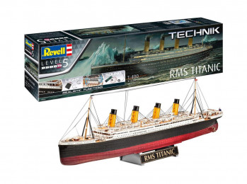 RMS Titanic Technik Kit (1:400 Scale)
