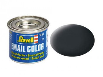 Enamel Paint 'Email' (14ml) Solid Matt Anthracite RAL7021