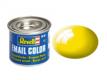 Enamel Paint 'Email' (14ml) Solid Gloss Yellow RAL1018