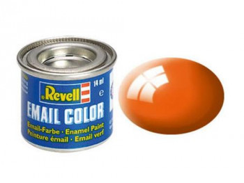 Enamel Paint 'Email' (14ml) Solid Gloss Orange RAL2004
