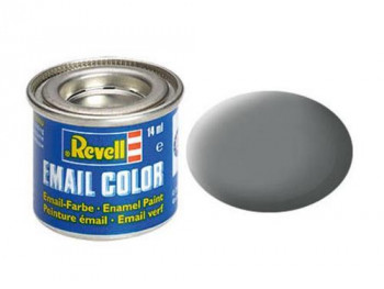 Enamel Paint 'Email' (14ml) Solid Matt Mouse Grey RAL7005