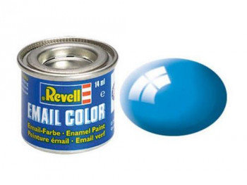 Enamel Paint 'Email' (14ml) Solid Gloss Light Blue RAL5012