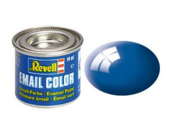 Enamel Paint 'Email' (14ml) Solid Gloss Blue RAL5005
