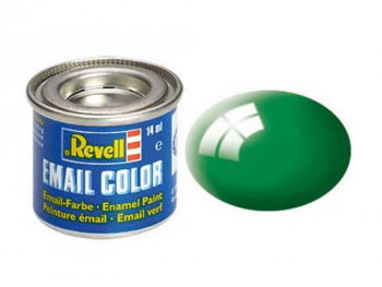 Enamel Paint 'Email' (14ml) Solid Gloss Emerald Grn RAL6029