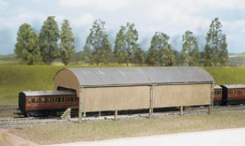Twin Track Carriage Shed Kit