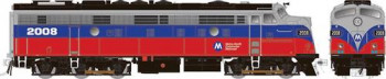 #P# Rebuilt EMD FL9 Metro North Red/Blue 2005