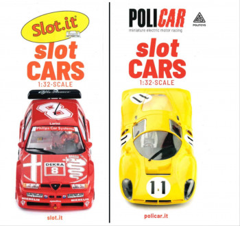 #D# Slot It/Policar Cars Flyer 2020
