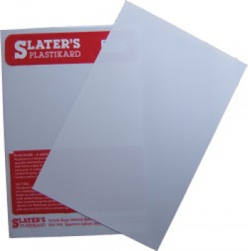 Plastikard Sheet 0.38mm (0.015'') 330x220mmn White