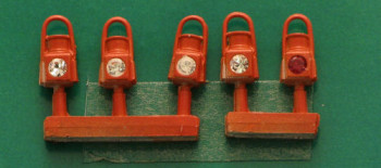 GWR Red Head and Tail Lamps (5)
