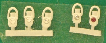 GWR White Head and Tail Lamps (5)