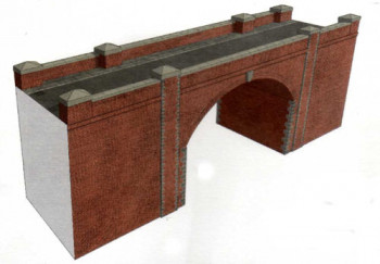 Red Brick Bridge/Tunnel Entrance Card Kit