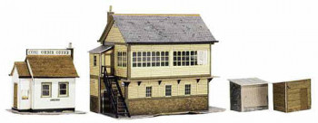 Signal Box and Hut Card Kit