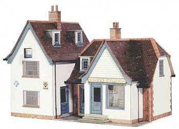 Small Pub (Swan Inn) Card Kit
