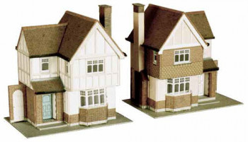 2 Detached Houses Card Kit