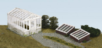 Greenhouse and Coldframes (2) Kit