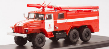 AC-40 (URAL-375) Moscow Fire Truck