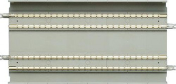 Straight Double Slab Track 5-1/2'' (2)
