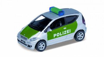 Mercedes Benz A200 Polizei Green/Silver