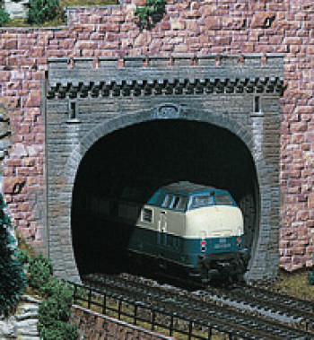 Double Track Tunnel Portal (2)