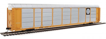 89' Tri-Level Enclosed Auto Carrier BNSF 303057
