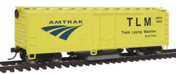 Track Cleaning Boxcar Amtrak