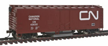 Track Cleaning Boxcar Canadian National