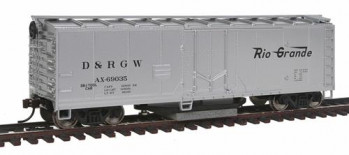 Track Cleaning Boxcar D&RGW