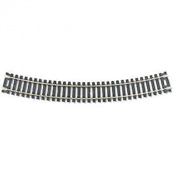 Code 100 Snap-Track Curved Track Radius 457.2mm 30 Degree