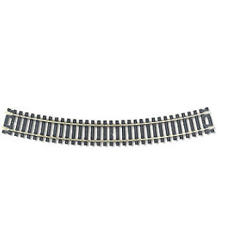 Code 100 Snap-Track Curved Track Radius 558.8mm 22.5 Degree