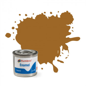 No 234 Dark Flesh Matt Enamel Paint (14ml)