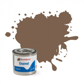 No 29 Dark Earth Matt Enamel Paint (14ml)