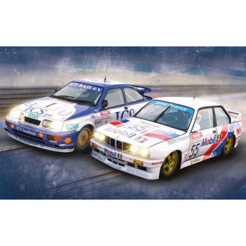 Touring Car Legends Twin Pack Ford Sierra RS500/BMW E30