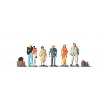 Foreign Travellers (6) Figure Set