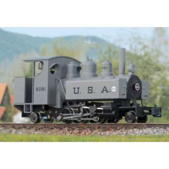 Baldwin 2-6-2 Grey with Black Lettering