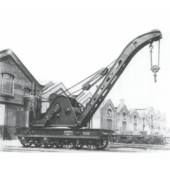 *Standard Cowans Sheldon 15t Crane LMS Wellingborough 243