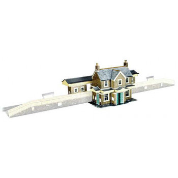 Country Station Building Card Kit