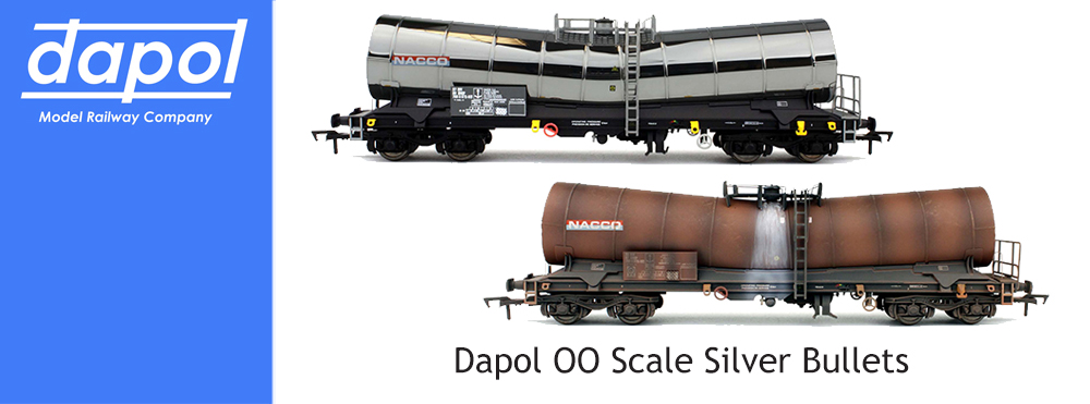 Dapol OO Scale Silver Bullets