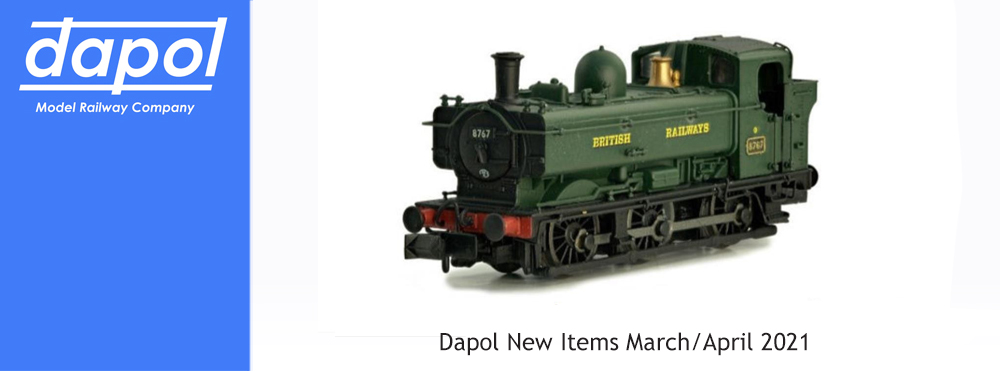 Dapol New Releases March/April 2021