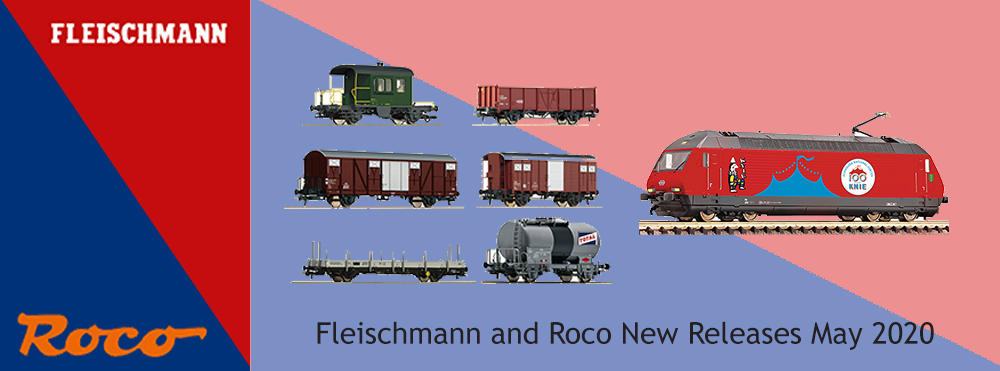 Roco and Fleischmann New Releases May 2020