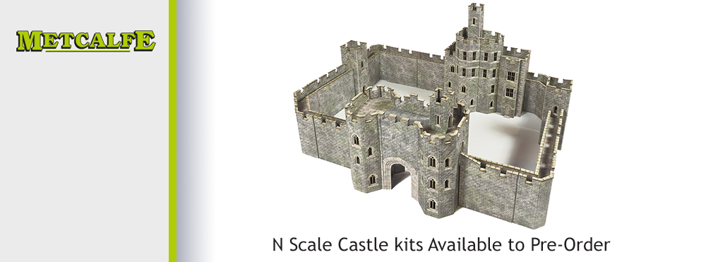 Metcalfe N Scale Castle Available to Pre-Order