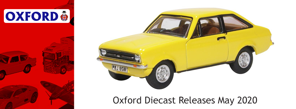 Oxford Diecast Releases May 2020