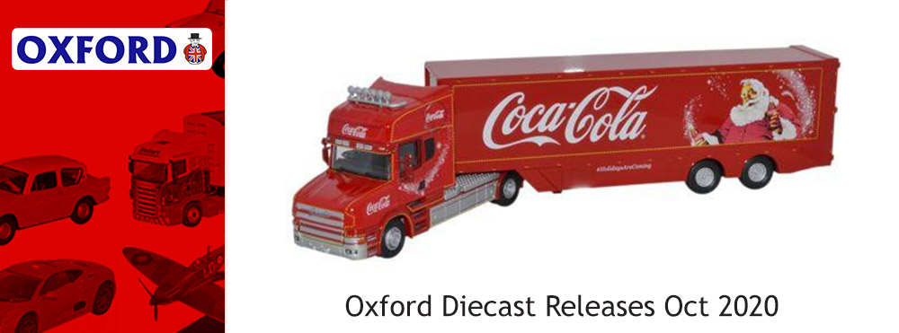 Oxford Diecast Releases October 2020