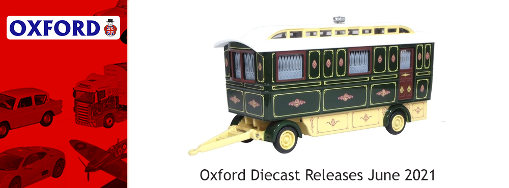 Oxford Diecast Releases June 2021
