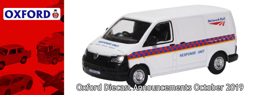 Oxford Diecast Releases October 2019